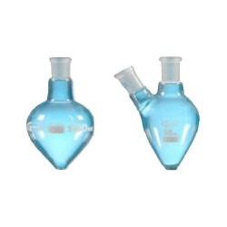 Pear shape flask with ground joint 0