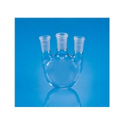 Round / Flat bottom flask 3-neaks (Vertical) 0