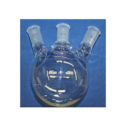 Round / Flat bottom flask 3-neaks (Angled) 0
