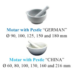 Motar with Pestle 0