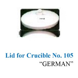 Lid for Crucible No. 105 0