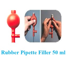 Rubber Pipette Filler 50 ml 0