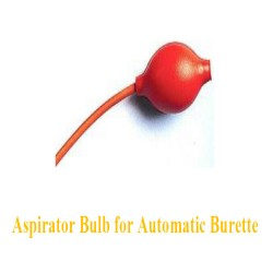 Aspirator Bulb for Automatic Burette 0