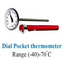Dial Pocket thermometer 0