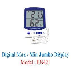 Digital Max / Min Jumbo Display 0